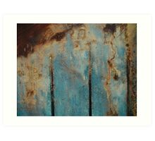 Abstract Peat Landscape Art Print