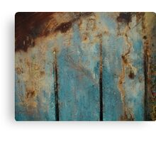 Abstract Peat Landscape Canvas Print