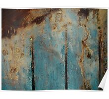Abstract Peat Landscape Poster