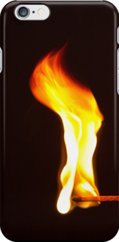 Don't Play With Fire - iPhone Case by Bryan Freeman