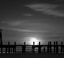 Without Pier 01, St Annes on Sea, Lancashire, UK by Simon Lupton
