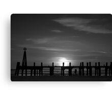 Without Pier 01, St Annes on Sea, Lancashire, UK Canvas Print