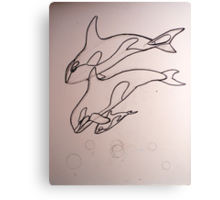 Children of the Sea wip 1 Canvas Print