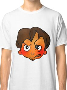 Angry boy Classic T-Shirt