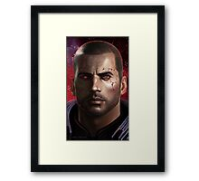 shepard commander renegade Framed Print