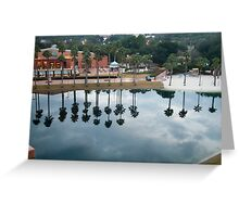 Trees in the water Greeting Card