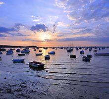 Sunset at Sandbanks by Graham Briant