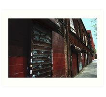 streetscape 1 Art Print