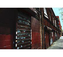 streetscape 1 Photographic Print