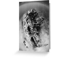 The Wreck Greeting Card