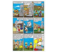 """Rick the chick  """"THE MAGIC SHELL (I pulcini predestinati) parte 22"""" Photographic Print"""