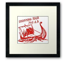 Viking Shopping Tour 793 Framed Print