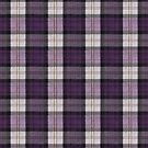 Purple Tartan by Alisdair Binning