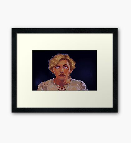 Just Guybrush! (Monkey Island 1) Framed Print