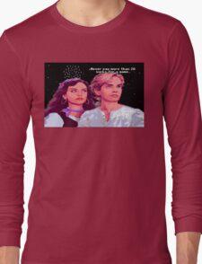 Guybrush and Elaine (final of Monkey Island 1) Long Sleeve T-Shirt