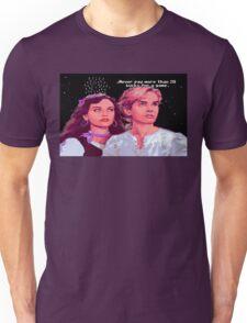 Guybrush and Elaine (final of Monkey Island 1) Unisex T-Shirt