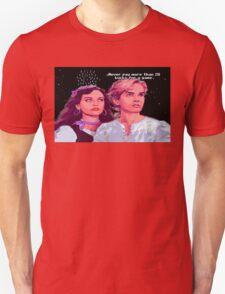 Guybrush and Elaine (final of Monkey Island 1) T-Shirt