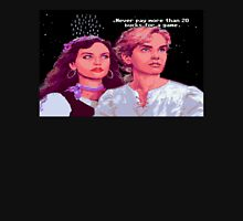 Guybrush and Elaine (final of Monkey Island 1) Unisex T-Shirt