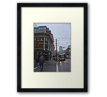 These streets were made for walking Framed Print