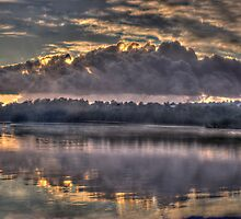 Storm Front  (Second Cut) - Narrabeen Lakes, Sydney Australia - The HDR Experience by Philip Johnson