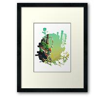 Howl's Castle Framed Print