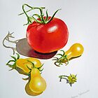 Tomatoes Dance by Irina Sztukowski