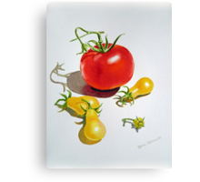 Tomatoes Dance Canvas Print