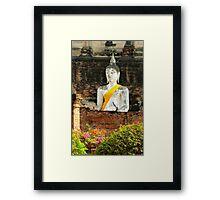 old Buddha Framed Print
