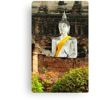 old Buddha Canvas Print