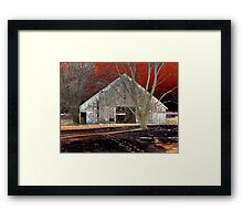 Beastly Barn Framed Print