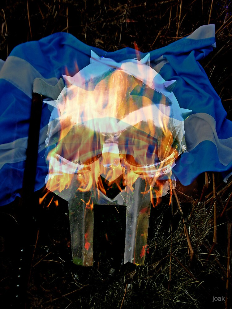 vikings in scotland by joak