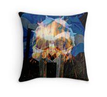 vikings in scotland Throw Pillow