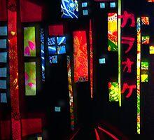 Neon Tokyo Lights by debzandbex