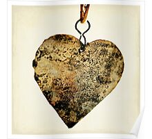 rusty heart Poster