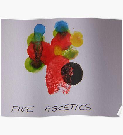 Five Ascetics Poster