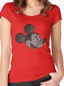 Brickey Mouse Women's Fitted Scoop T-Shirt