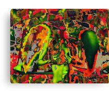 Decapitated Chili Pepper Angel Canvas Print
