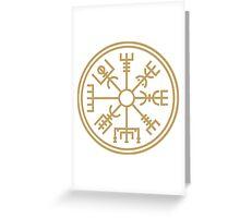"Vegsvisir - the viking ""compass"" Greeting Card"