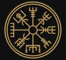 "Vegsvisir - the viking ""compass"" by wikingershirts"