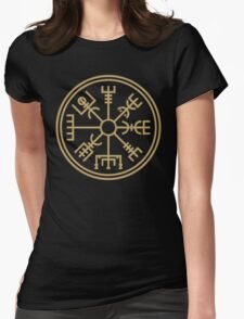 "Vegsvisir - the viking ""compass"" Womens Fitted T-Shirt"