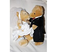 Teddy Wedding Photographic Print