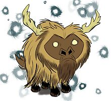 Beefalo, Don't Starve by Cheezwiz