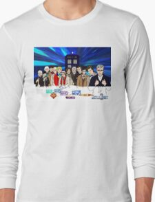 13 Doctors Long Sleeve T-Shirt