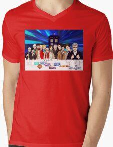 13 Doctors Mens V-Neck T-Shirt