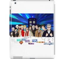 13 Doctors iPad Case/Skin