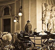 Horse & Carriage in Vienna by Tycho's Eye  Photography