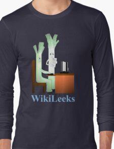 WikiLeeks Long Sleeve T-Shirt