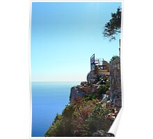 Terrace with a view Poster