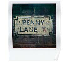 penny lane polaroid Poster
