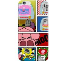 Capitan Cerdicola With Peppa Pig As Special Guest Star iPhone Case/Skin